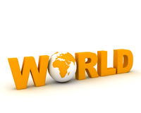WWW World010 Stock Image