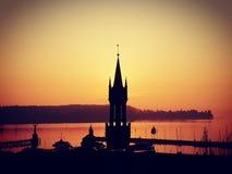 Wyłącznie w wschodzie słońca obrazy royalty free