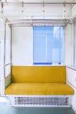 Wyłączny krzesło w pociągu dla niepełnosprawnej osoby zdjęcie stock