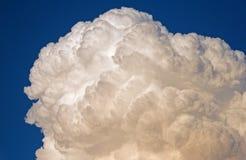 WYŁUPIASTA BIAŁA cumulus chmura fotografia stock