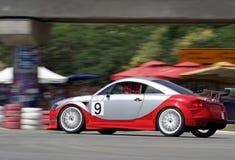 wyścig samochodów fotografia royalty free