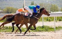 Wyścigi konny. obrazy stock