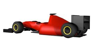 wyścigi samochodów czerwone Obraz Stock