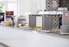 Wyśmienicie śniadaniowa bufet panorama 10 obrazy royalty free