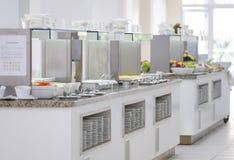Wyśmienicie śniadaniowa bufet panorama 7 fotografia stock