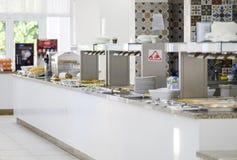Wyśmienicie śniadaniowa bufet panorama 4 obraz stock