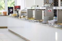 Wyśmienicie śniadaniowa bufet panorama 5 obrazy royalty free