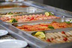 Wyśmienicie śniadaniowy bufet 3 zdjęcia stock