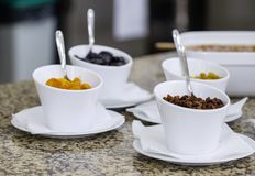 Wyśmienicie śniadaniowy bufet 4 zdjęcia royalty free