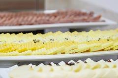 Wyśmienicie śniadaniowy bufet z serem 2 zdjęcie stock