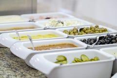 Wyśmienicie śniadaniowy bufet zamknięty w górę 10 zdjęcie royalty free