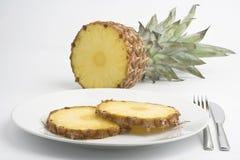 wyśmienicie świeży naturalny ananas Fotografia Stock