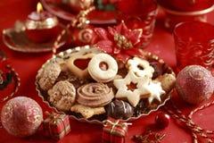 wyśmienicie Bożych Narodzeń ciastka fotografia royalty free
