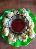 Wyśmienicie cireng indonezyjski jedzenie - tradycyjny jedzenie od Bandung, indonezyjczyk zdjęcie royalty free