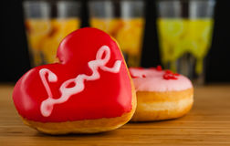 Wyśmienicie Donuts zdjęcie royalty free