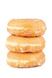 wyśmienicie donuts trzy obraz royalty free