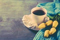 Wyśmienicie filiżanka gorąca herbata i Fotografia Royalty Free