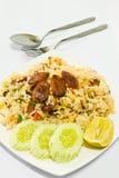 wyśmienicie karmowi ryż Obrazy Stock