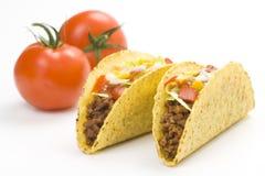 wyśmienicie karmowy meksykański taco Zdjęcia Royalty Free