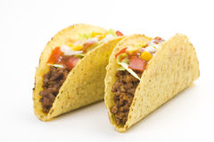 wyśmienicie karmowy meksykański taco obraz royalty free