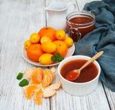 Wyśmienicie mandarine dżem Obraz Stock