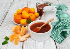 Wyśmienicie mandarine dżem Zdjęcia Stock