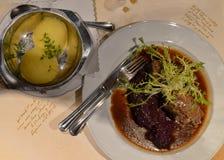 Wyśmienicie Niemiecki posiłek Zdjęcie Stock