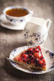 Wyśmienicie owocowy tarta deser Obraz Stock