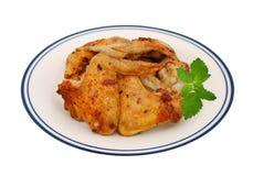 Wyśmienicie pieczony kurczak Fotografia Royalty Free