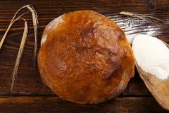 Wyśmienicie pszeniczny chleb obraz royalty free