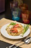 Wyśmienicie smażący ryż z krabem Zdjęcia Stock