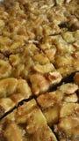 Wyśmienicie Toffee tort Zdjęcie Royalty Free