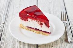 Wyśmienicie tortowy deser z galaretą Zdjęcie Royalty Free