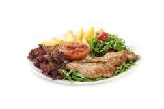 Wyśmienicie wołowina posiłków salat Obrazy Stock