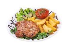 Wyśmienicie wołowina posiłki Zdjęcia Stock