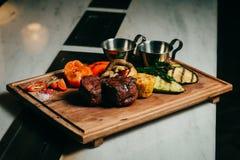 Wyśmienicie wołowina stek Obrazy Stock
