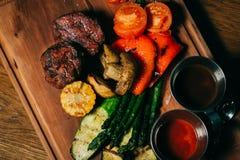 Wyśmienicie wołowina stek Zdjęcie Royalty Free