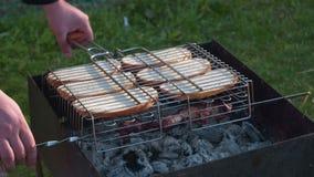Wyśmienicie zdrowy chleb na grillu zbiory