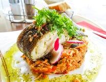Wyśmienita Francuska kuchnia Zdjęcie Stock