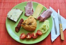 wyśmienite śniadanie Obraz Stock