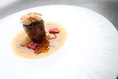 Wyśmienitego jedzenia garneli mięso Zdjęcia Royalty Free