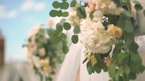 Wyśmienity Ślubny wystrój zdjęcie wideo
