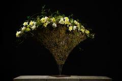 Wyśmienity kwiatu przygotowania z tulipanami i daffodils zdjęcia royalty free