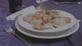 Wyśmienity makaronu naczynie zdjęcie wideo