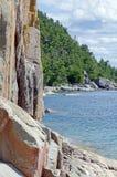Wyższy Jezioro Fotografia Stock