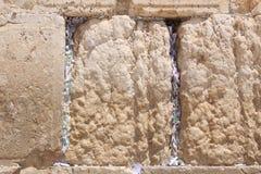 Wy ściana, Jerozolima, Izrael Obraz Stock