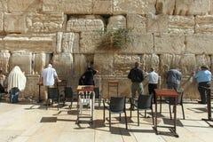 Wy ściana Jerozolima, Izrael, - Zdjęcie Royalty Free