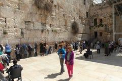 Wy ściana Jerozolima, Izrael, - Fotografia Royalty Free