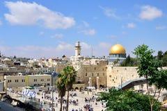 Wy ściana kwadrat w starym Jerozolima Obrazy Stock
