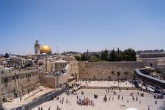 Wy ściana w Jerozolima Zdjęcia Stock